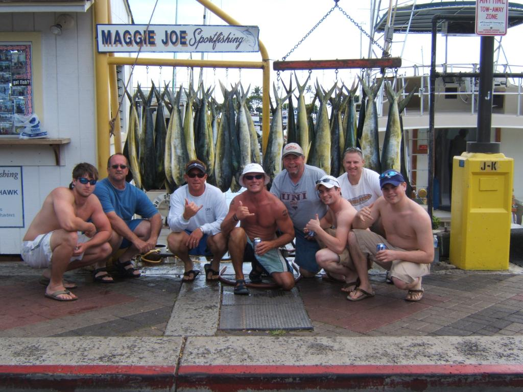 Too many Mahi Mahi's to count!