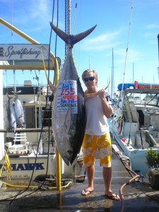 Andreas with 225 lb Ahi