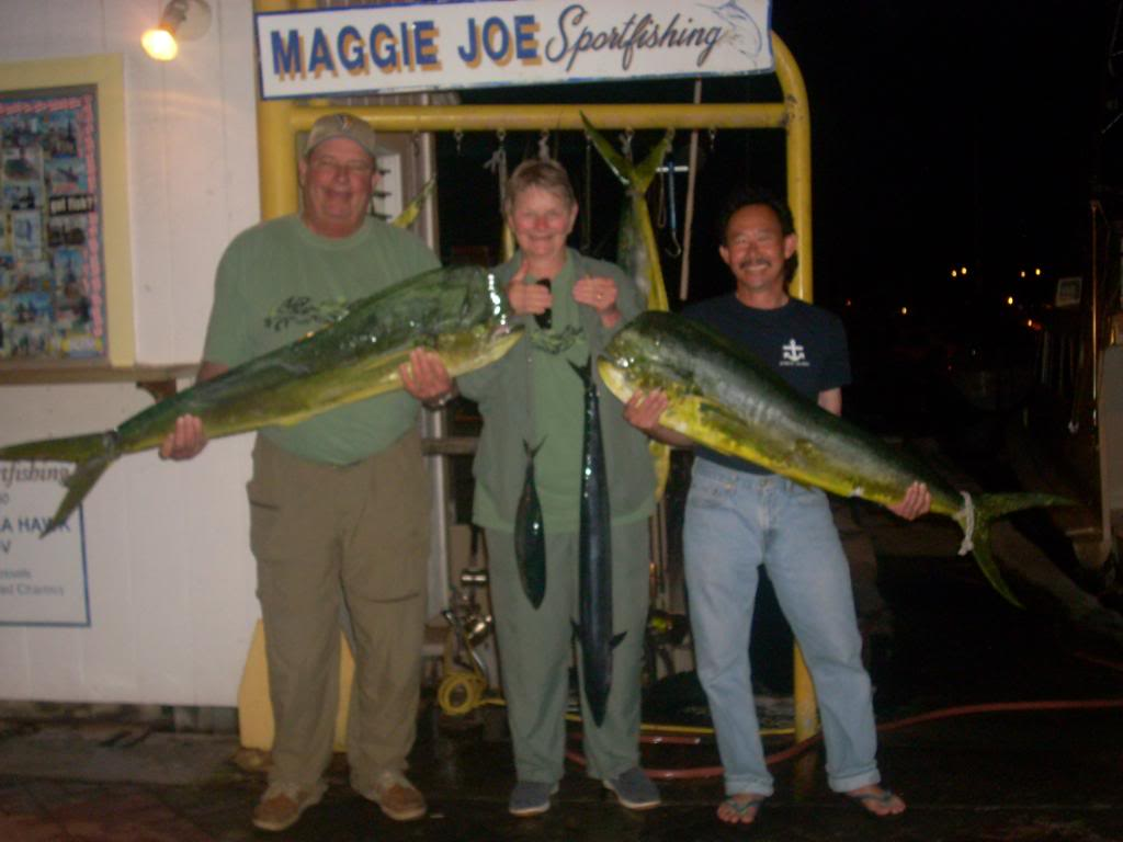 6 Mahi Mahi and 1 Shibi