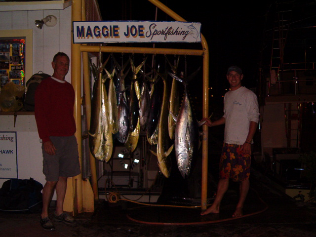 13 Mahi Mahi and 1 Shibi