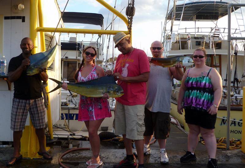 Charter maggie joe sport fishing oahu deep sea fishing for Cleveland fishing report
