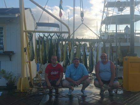Kasz, Bob and Duane with catch
