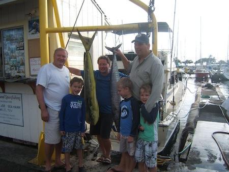 oahu deep sea fishing charter honolulu hawaii