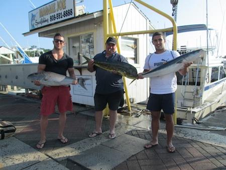 Ruckus deep sea fishing report maggie joe sport fishing for Fishing charters oahu