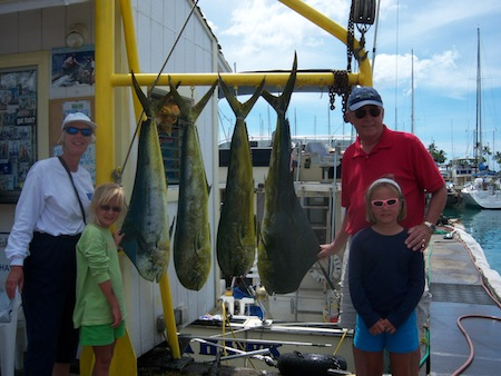 oahu deep sea fishing charter, honolulu, hawaii