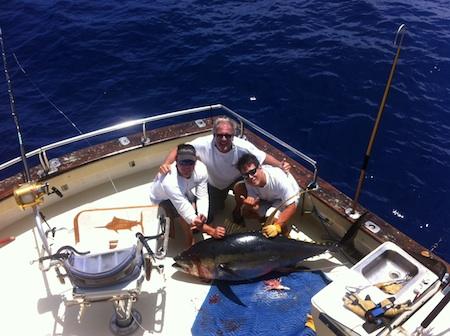 Hawaii sport fishing maggie joe sport fishing oahu deep for Deep sea fishing oahu