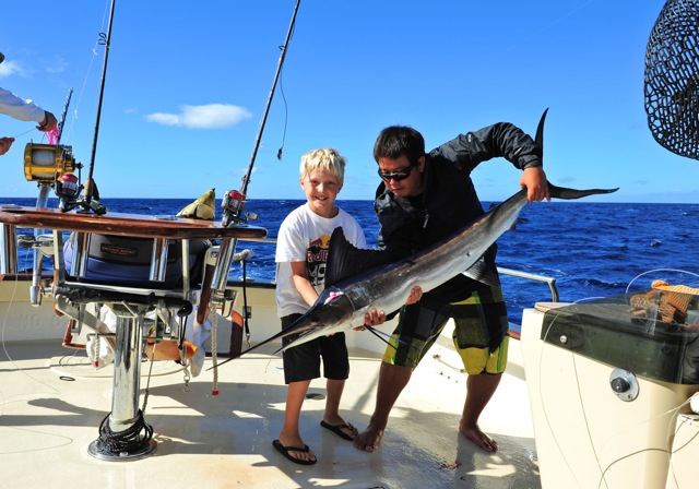 Maggie joe sport fishing report maggie joe sport fishing for Deep sea fishing oahu