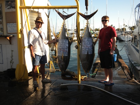 Ruckus Deep Sea Fishing Report