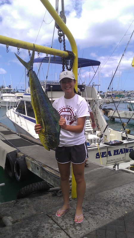 Sea hawk deep sea fishing report maggie joe sport for Honolulu fishing charters