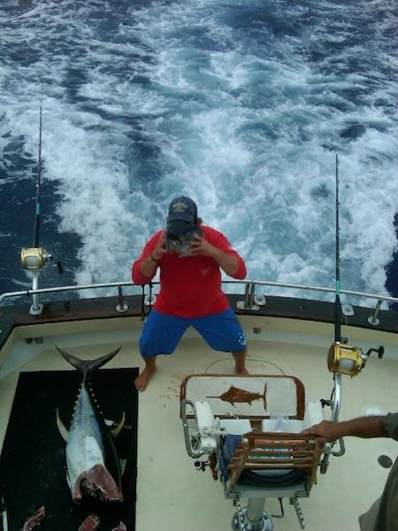 kona sport fishing tournament charter