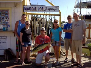 That's ALOT of Mahi Mahi's