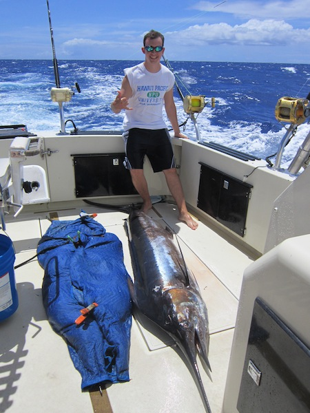 Blue marlin maggie joe sport fishing oahu deep sea fishing for Fishing charters oahu