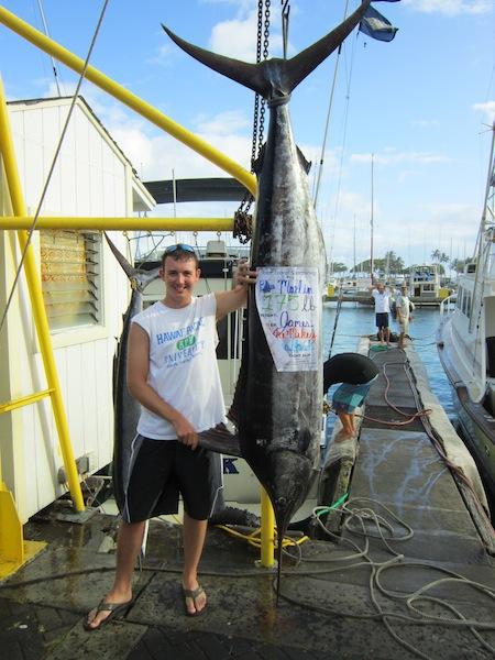 Blue marlin maggie joe sport fishing oahu deep sea fishing for Deep sea fishing hawaii