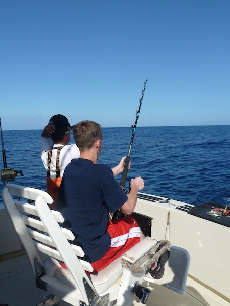 Customer photo maggie joe sport fishing oahu deep sea for Hawaii fishing charters