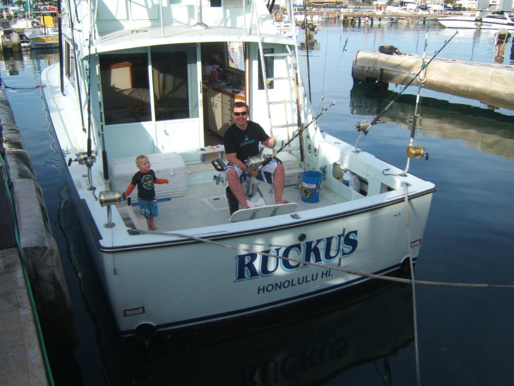 The Ruckus back in the harbor