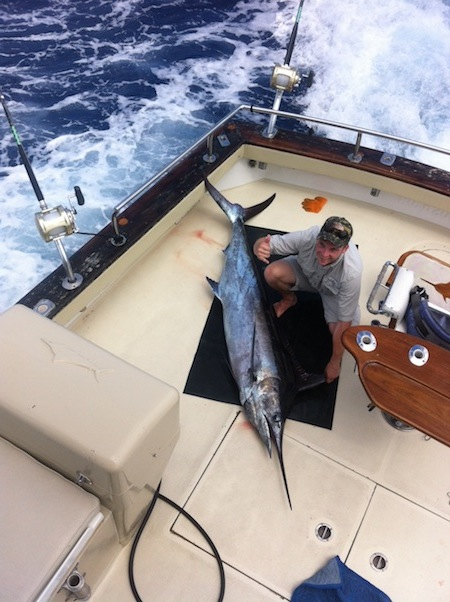 Oahu blue marlin maggie joe sport fishing oahu deep sea for Fishing charters oahu