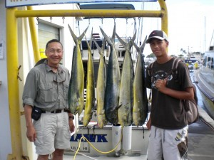 The Gee's and 6 Mahi Mahi's