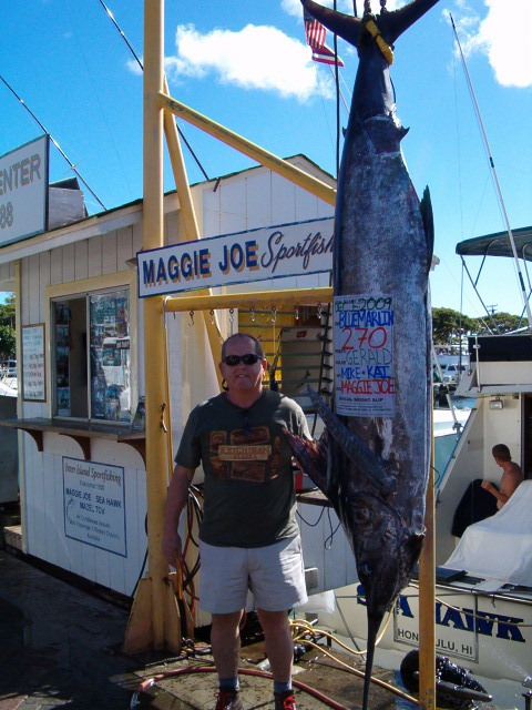 270 lb. Blue Marlin