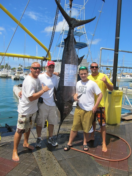 oahu deep sea fishing charter.