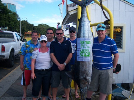 Honolulu, Oahu deep sea fishing charter