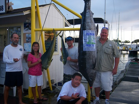 oahu deep sea fishing charter, honolulu, hawaii sport fishing