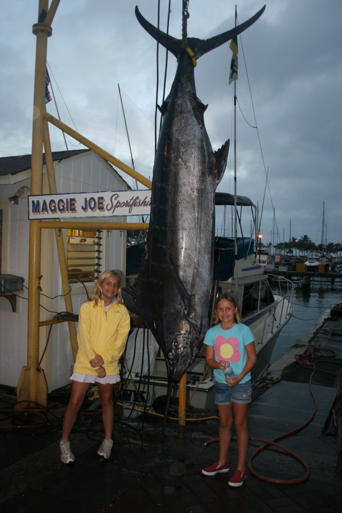 Marlin with Maggie Joe