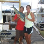 maggie-joe-1-mahi-and-a-few-small-aku-angler-kenny-with-wife-monica-also-went-with-mom-and-dad
