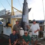maggie-joe-470-lb-blue-marlin-angler-neil-and-friend-michael-with-crew-capt-mark-and-mate-morgan