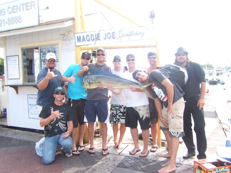 maggie-joe-bachelor-party-1-mahi-angler-groom-jim-and-friends-ken-paul-tony-ben-ray-with-capt-kevin-and-mate-mark