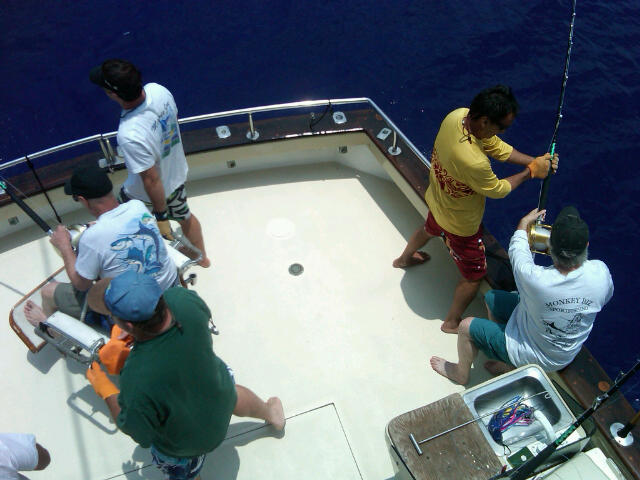 kona deep sea fishing charter