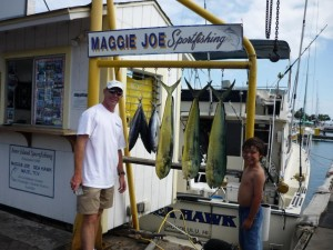 3 Mahi Mahi and 4 Aku