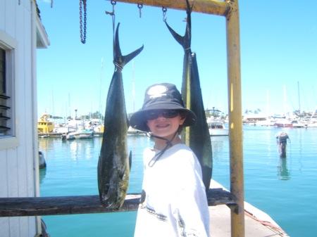ruckus-patrick-his-first-fish-ever-caught-2-mahi-mahi