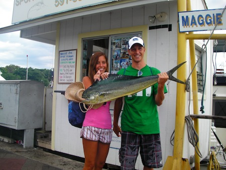 sea-hawk-mahi-mahi-jackie-jeff-the-newleyweds